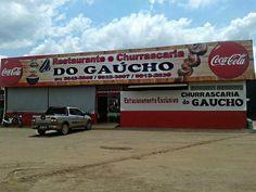 Eu recomendo Restaurante e Churrascaria do Gaúcho- Setor Formosinha, #Formosa, #Goiás, #Brasil