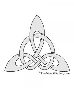 Celtic Knot - Triangle Stencil Character Design Animation, Celtic Knot, Art Therapy, Knots, Stencils, Triangle, Mandala, Tapestry, Embroidery