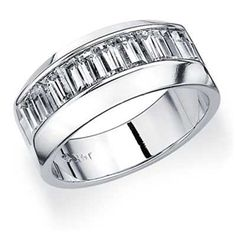Ohhhhh my gosh yes.....I would love for this to be his wedding band. https://www.eternityweddingbands.com/wp-content/uploads/2012/04/Baguette-Diamond-Ring-White-Gold5.jpg