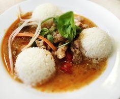 Denné menu Vranov | Bravčové rezance s olivami a baraními rohmi, dusená ryža - reštaurácia Hotel Patriot*** #hotel #restaurant