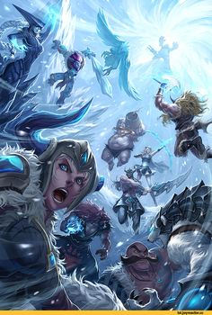 League of Legends,Лига Легенд,фэндомы,Sejuani,Ashe,Braum,Udyr,Volibear,Tryndamere,Gragas,Lissandra,Olaf,Nunu,Anivia,Trundle