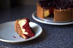 new york cheesecake, tumbled