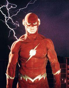 John Wesley Shipp as The Flash 1990