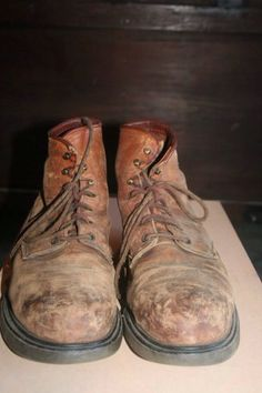 men's vintage 1970's RED WING work hiking boots brown rare 18