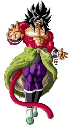 Broly Super Saiyan 4 by Darkhameleon on DeviantArt Dragon Ball Gt, Dragon Ball Image, Broly Super Saiyan 4, Broly Ssj4, Dbz Characters, Z Arts, Animation, Deviantart, Dragon Super