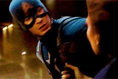 Steve Rogers, Peggy Carter    Captain America TFA    245px × 166px    #animated #hmsbestgirl