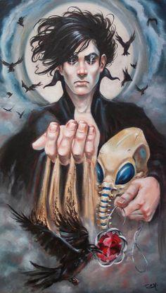 Neil Gaiman's 'Sandman' Comic Series 25th Anniversary Art Show at Mission: Comics and Art in San Francisco