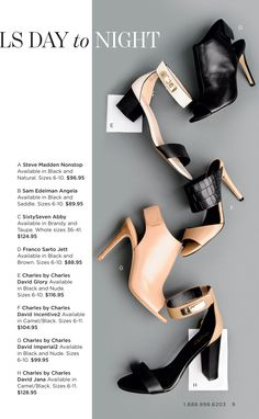Charles David leather heels and flats, available at Lori's Shoes Chicago stores and/or www.lorisshoes.com #lorisshoes #chicago #shoes #fashion #style #shop