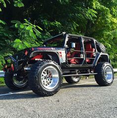 Go to our web-site for lots more all about this remarkable lifted jeep Jeep Rubicon, Jeep 4x4, Jeep Truck, Jeep Wrangler Unlimited, Wrangler Sport, Jeep Wheels, Badass Jeep, Black Jeep, Custom Jeep