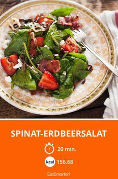 Spinat-Erdbeersalat - smarter - Zeit: 20 Min. | eatsmarter.de