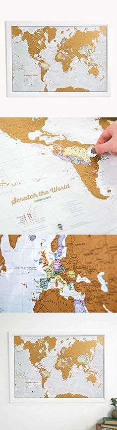 Other travel maps 164807 world scratch off travel map bundle large other travel maps 164807 world scratch off travel map bundle large scrape off earth free shipping new buy it now only 3867 on ebay gumiabroncs Gallery