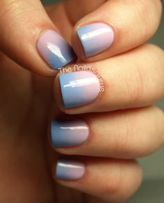 Weekend Manicure Idea: Try This Cotton-Candy-Color Ombré Style at Home: Girls in the Beauty Department Candy Colors, Nail Colors, Color Nails, Gender Reveal Nails, Nailart, Polish Names, Cotton Candy Nails, Party Nails, The Beauty Department