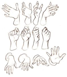 26 Ideas How To Draw Human Hands Pose Reference Hand Drawing Reference, Art Reference Poses, Cartoon Drawings, Drawing Sketches, Cartoon Expression, Human Figure Drawing, Hand Sketch, Anatomy Drawing, Art Sketchbook