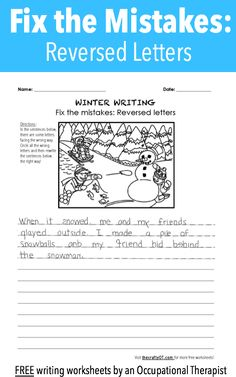 FREE Customizable Printable ABC'-s Picture and Handwriting ...