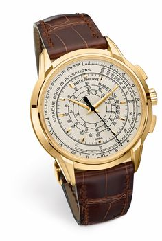"""Say hello to the brand new, limited edition chronograph in celebration of 175 years of Patek Philippe. This new """"Multi-Scale Chronograph,"""" as they are calling it, is really a unique offering. Dubbed the reference 5975, this 40 mm chrono looks similar to the traditional 5170, but it's not. Let's get into what makes the 5975 so interesting."""