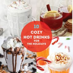 10 amazing Holiday Drink Recipes