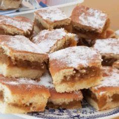 Prăjitură cu mere Apple Pie, Apple Tarts, Sweets Recipes, Doughnut, Muffins, Deserts, Cooking, Food, Cakes