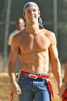 Ryan Kwanten of True Blood......  Makes U Wanna Play Flag Football!  ;)