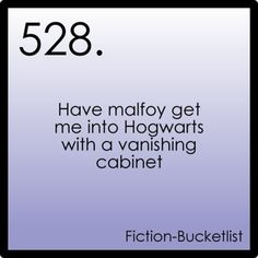 Fictional Bucket List - Harry Potter (and then 3 years later kiss him breathless)