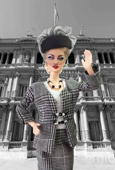 https://flic.kr/p/EoeiUN   Barbie Madonna Evita Peron Style Ooak   stores.ebay.com/IMPERIALIS-OOAK-DOLLS