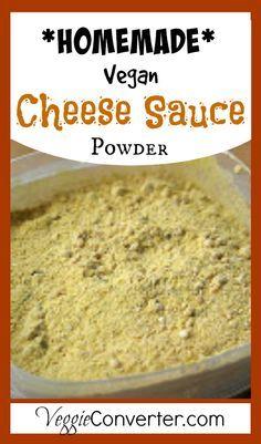 Homemade Vegan Cheese Sauce Powder