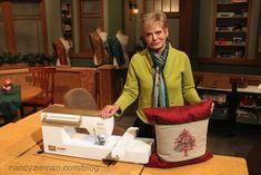 Nancy Zieman/ sew a pillow wrap/Baby Lock Holiday Happenings | Nancy Zieman Blog