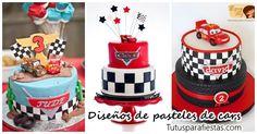 Pasteles para fiesta infantil de Cars -