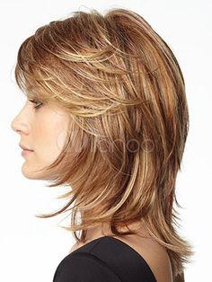 shag hairstyles for fine hair for older women Medium Hair Cuts, Short Hair Cuts, Medium Hair Styles, Curly Hair Styles, Medium Layered Hair, Pixie Cuts, Medium Brown, Medium Shag Haircuts, Shag Hairstyles