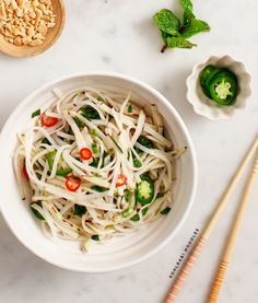 (via spicy kohlrabi noodles | Love and Lemons)   #healthy #vegetarian #recipes Find more healthy recipes @ http://standouthealth.com