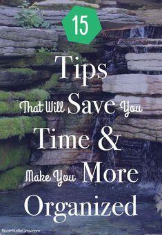 15 Tips That Will Sa