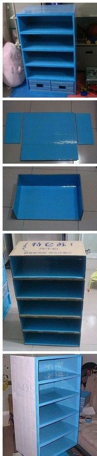 How to Make a Paper Sorter out of Cardboard
