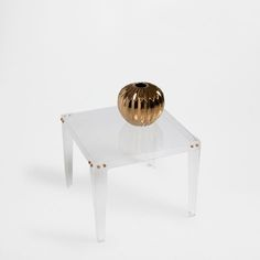 LITTLE SQUARE METHACRYLATE TABLE - Occasional Furniture | Zara Home United States