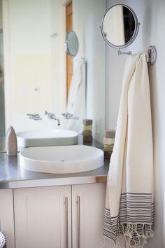 Very Small Bathroom Ideas New Home Interior Design MyTinyHouse - Striped bath towels for small bathroom ideas