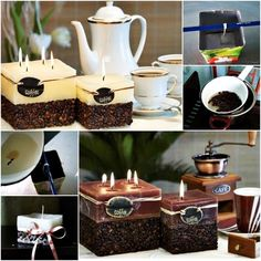 How To Make A Coffee Candle2