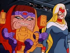 M.O.D.O.K. and Hypnotia are the best of friends.