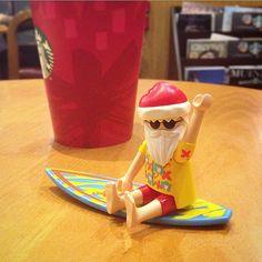 여름이나 빨리오소서 #surfingsanta #playmobil