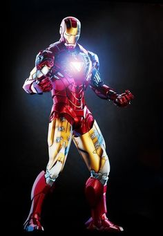 ironman mark VI - hot toys, photo and digital imaging by www.michaeltju.com