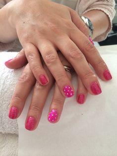 Minnie spots and glitter xx