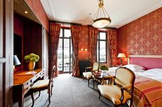 Looking for luxury rooms and suites at Grand Hotel Les Trois Rois? Check availability at The Leading Hotels of the World Five Star Hotel, 5 Star Hotels, Best Hotels, Switzerland Hotels, Leading Hotels, Luxury Rooms, Beautiful Hotels, Grand Hotel, Lodges