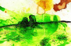 'Froschbild Froschpaar' von Conny Wachsmann bei artflakes.com als Poster oder Kunstdruck $16.63