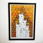 #parede #draw #deco #dogs #poster #frame #ilustracao #framed #design #cidomolduras #desenho #matilhacultural #moldura #robinhosantana #molduras #arte #print #quadros #artframe #cachorros