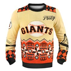 San Francisco Giants Ugly Christmas Sweaters | H-Christmas Gift ...