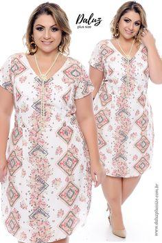 Vestido Lux -  Coleção Vestidos Plus Size - @daluzplussize