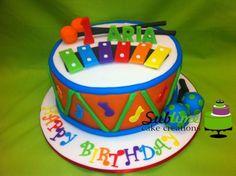 MUSICAL INSTRUMENT KIDS CAKE - CakesDecor