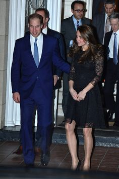 Right This Second, Kate Middleton Is Wearing the Coatdress of Our Dreams: After seeing Kate Middleton and Prince William make their way into The Carlyle hotel Sunday evening and then to a private dinner shortly afterward, we had high hopes for the duchess's first daytime outfit.