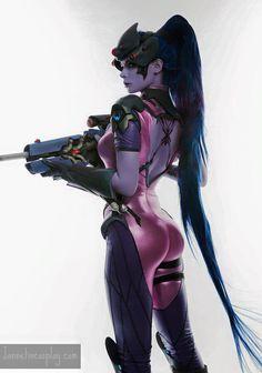 Character: Widowmaker (Amélie Lacroix) / From: Blizzard Entertainment's…