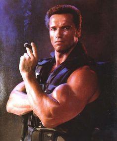 Arnold Schwarzenegger COMMANDO Photo: Vintage signed Arnold Schwarzenegger Commando studio shot This Photo was uploaded by Arnold Schwarzenegger, Action Film, Action Movies, Bruce Lee, Rae Dawn Chong, Lauren Hashian, Pumping Iron, The Other Guys, Big Guys