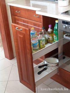 10 gyakori konyhai probléma kép17 Kitchen Pantry, Kitchen Cart, Kitchen Storage, Kitchen Cabinets, New Homes, House Design, Furniture, Google, Organizing