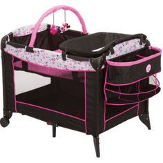 Bassinet Play Yard Crib for Girls Portable Changer Cradle Storage Minnie Mouse | Baby, Nursery Furniture, Bassinets & Cradles | eBay!