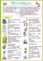 51 Ideas De Will And Going To Ejercicios De Ingles Actividades De Ingles Clase De Inglés